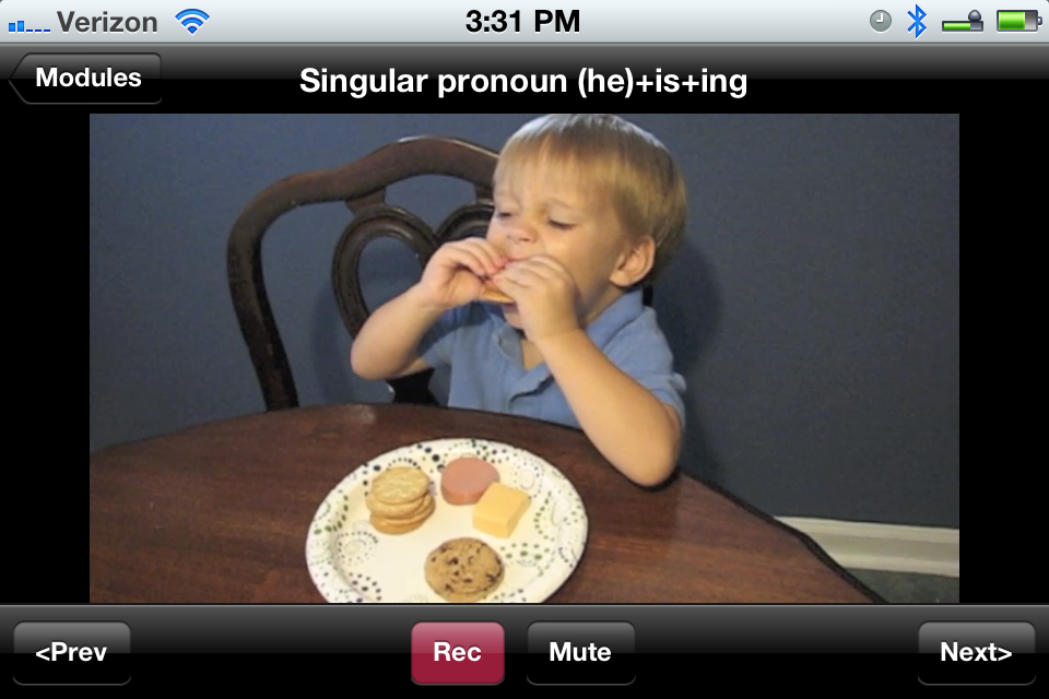 Autism Language Learning - Educational App